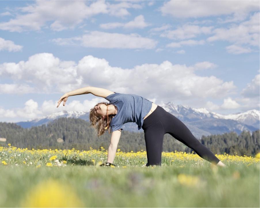Hatha Yoga in Flims by Senta Sante